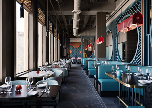 The dining room at Empress by Boon
