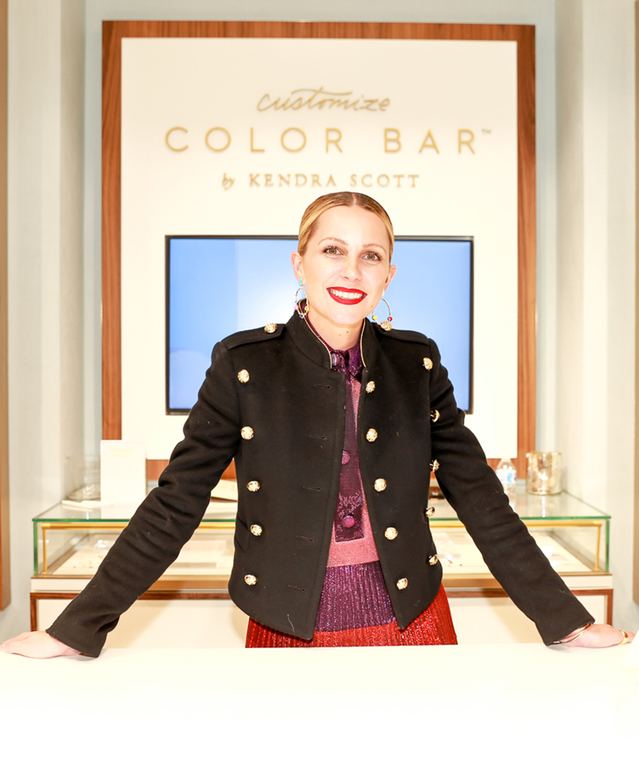 Blair Eadie Gets Personal at Kendra Scott in NYC