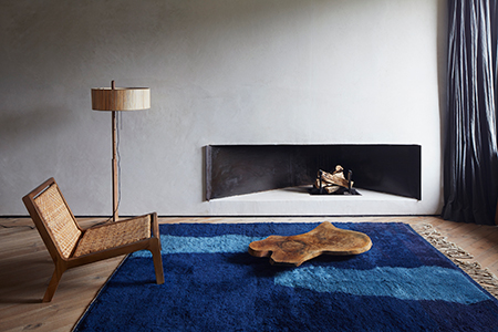 Colin King's styling work for Beni Rugs at a Studio KO villa in Morocco