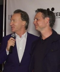Jason Binn Welcomes Bill Maher at DuJour's Up & Down Party to Celebrate The Comedian's Cover