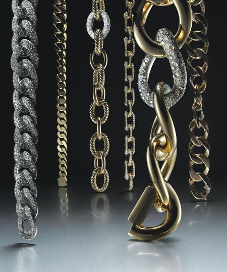 Chic Chain-link Necklaces and Bracelets