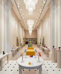 Just in time for its 50th anniversary, the luxury shoemaker returns to New York City with a new uptown flagship