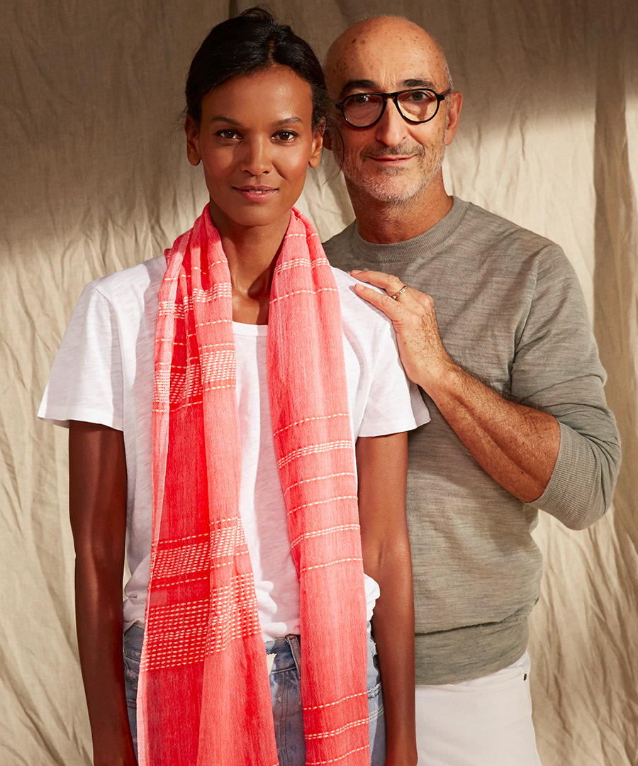 Liya Kebede and Pierre Hardy Join Forces for Summer