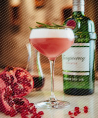 Drink DuJour: The Smashed Pomegranate