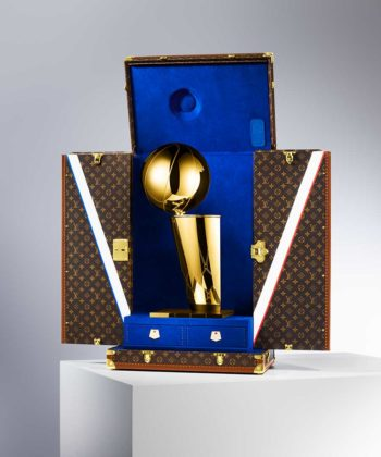 Louis Vuitton Is The NBA's First Official Trophy Travel Case Designer