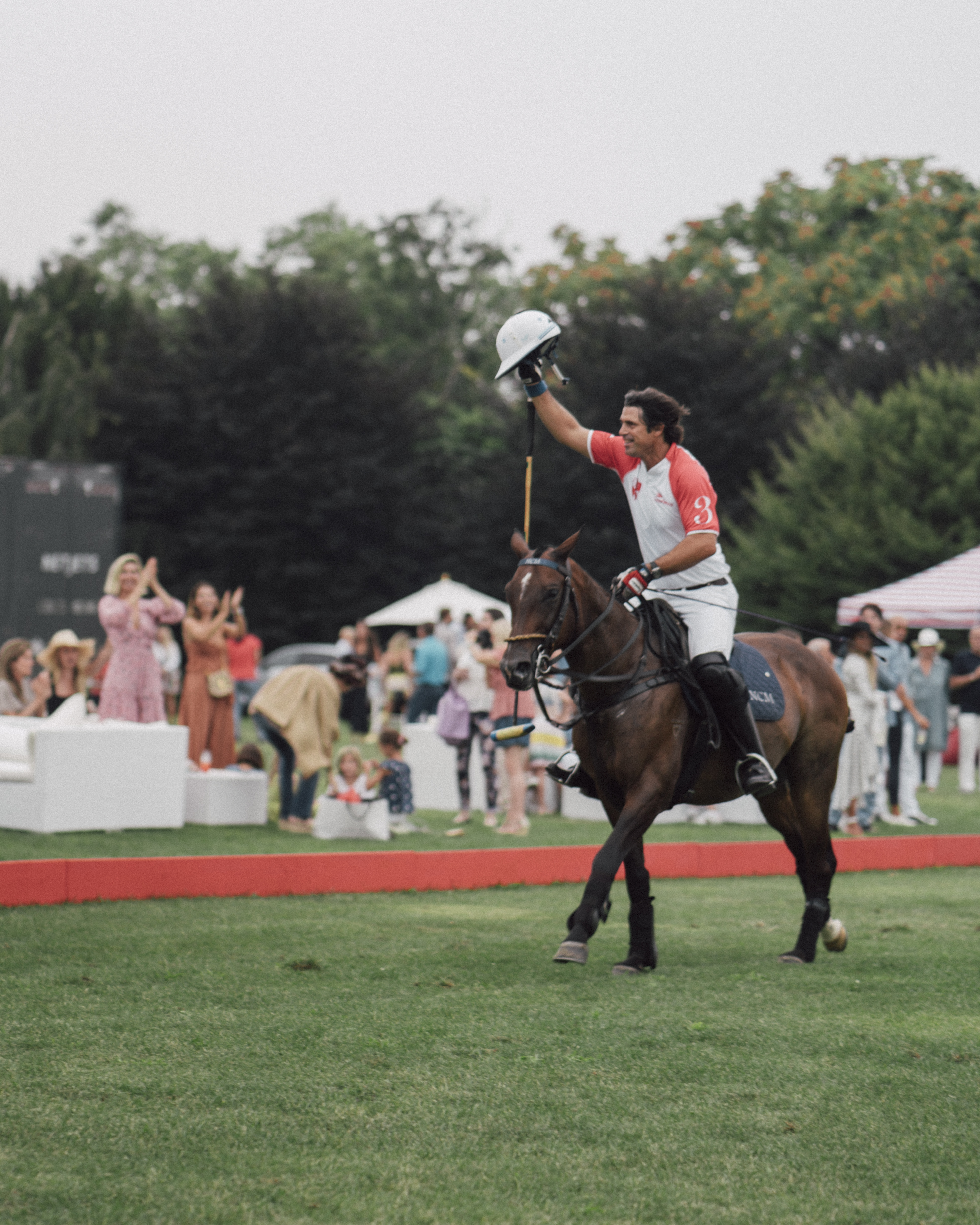 Inside The First Annual Edmiston Charity Chukka in The Hamptons