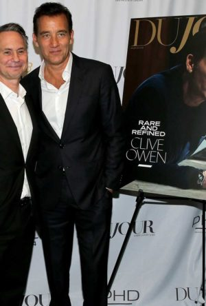 Inside DuJour's Fall Cover Party With Clive Owen