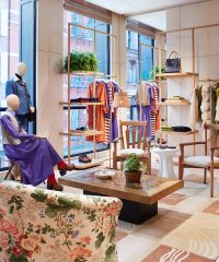 The American designer plants new roots in downtown New York City