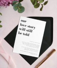 """Shop 10 """"Change the Date"""" Wedding Cards"""