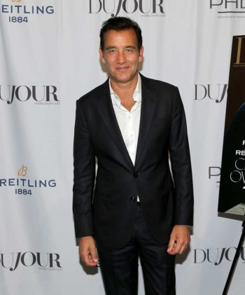 DuJour Celebrates Fall Cover Star Clive Owen