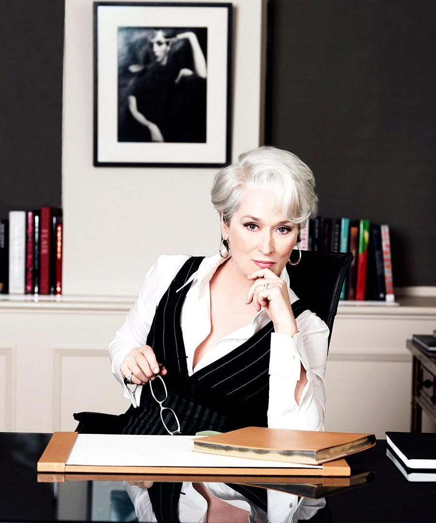Miranda Priestly's Back