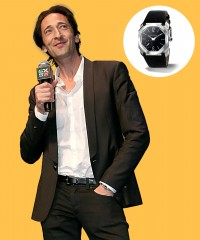 Watch & Learn: Adrien Brody's Bulgari