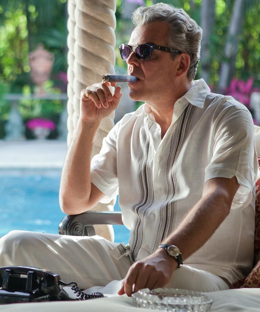 Danny Huston is Miami's Favorite Mobster