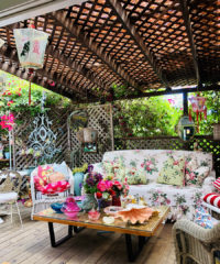 The fashion designer has listed her Paradise Cove residence and it is just as eclectic as you'd imagine