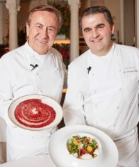 The premium ibérico ham brand has teamed up with master chefs to offer foodies an upscale, savory culinary adventure