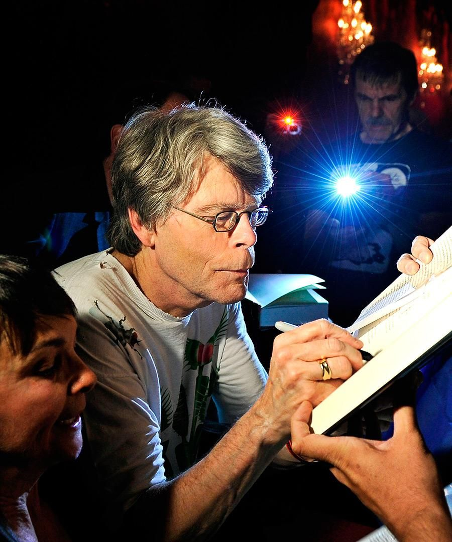 Famous Last Words: Stephen King