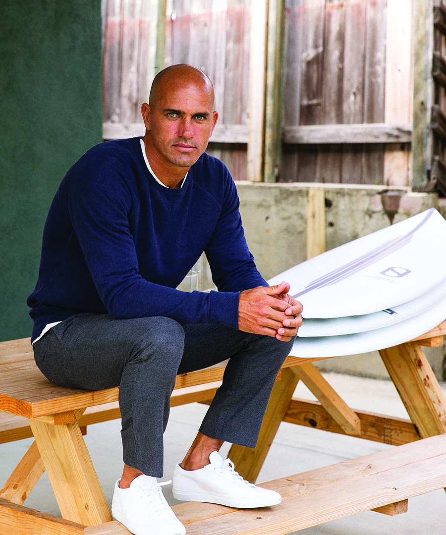 Kelly Slater is Making Waves