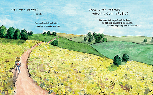 """""""What the Road Said"""" by Cleo Wade"""
