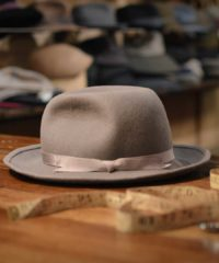A selection of hats for the groom to wear on his wedding day, from sophisticated to retro-inspired
