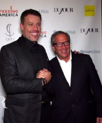Inside Tony Robbins' Book Launch Party in New York City with DuJour Magazine