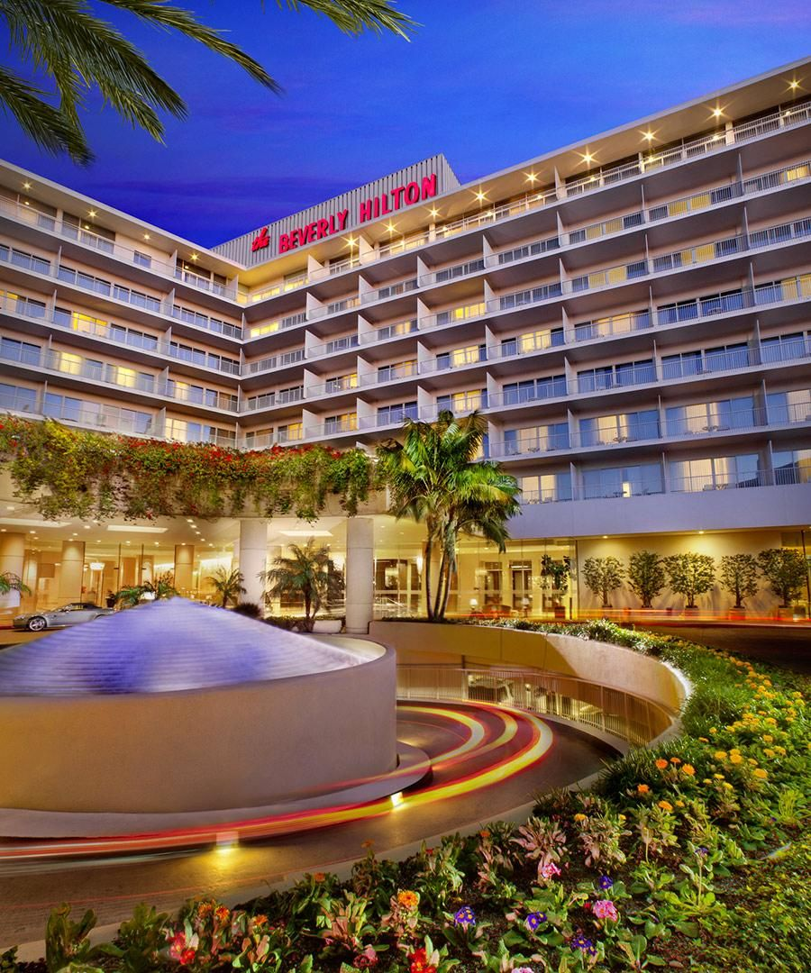 Room Request! The Beverly Hilton