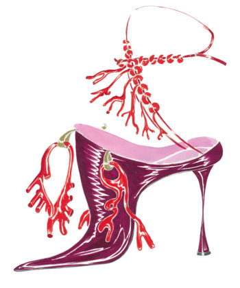 Manolo Blahnik Launches a Colorful Initiative to Encourage Positivity