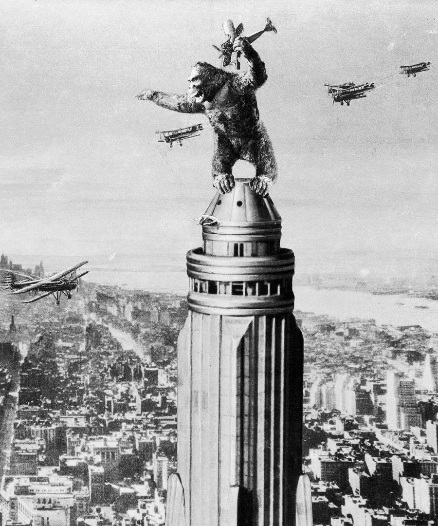 King Kong Hits Central Park