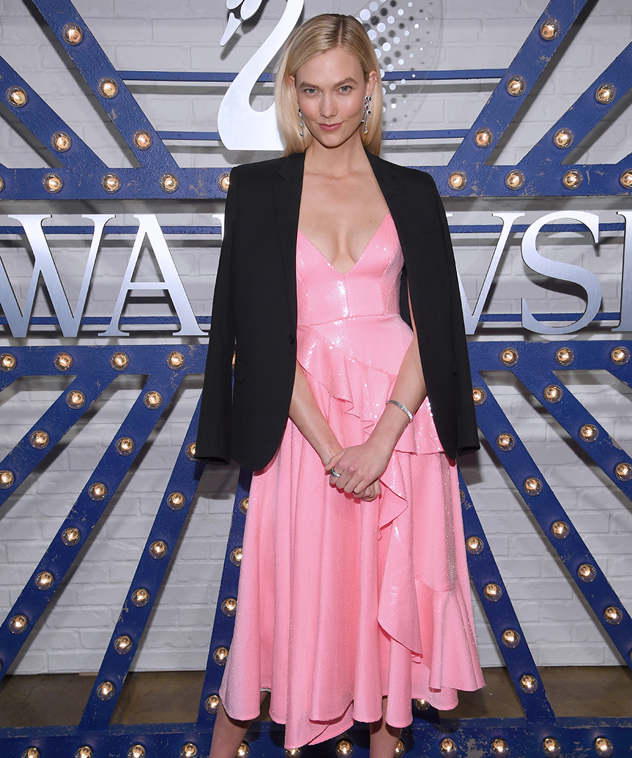 Karlie Kloss Dazzles in Times Square
