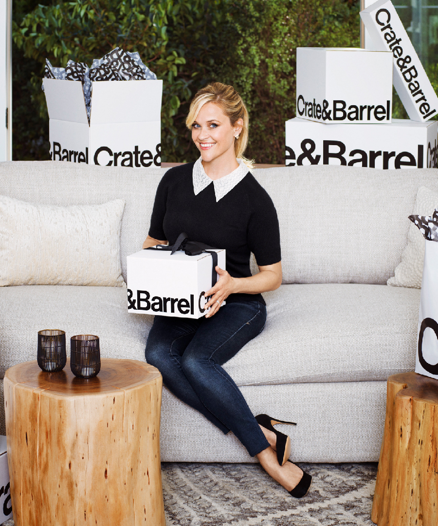 Reese Witherspoon & Crate and Barrel Partner for the Holidays