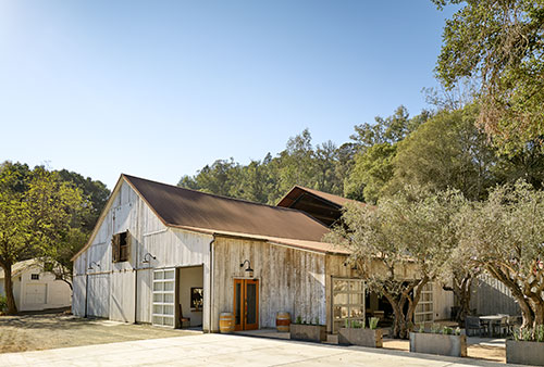 Brion Winery's barn