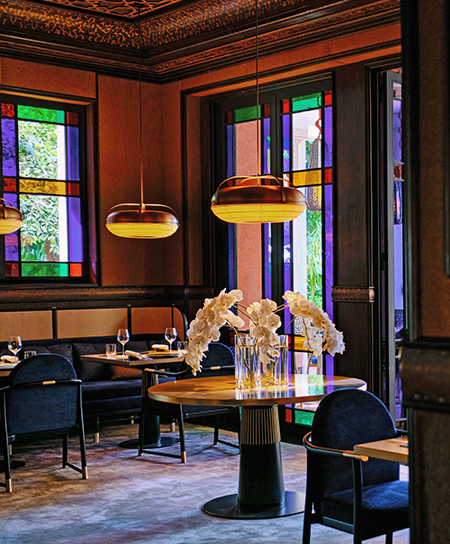 The new restaurant L' Asiatique by Jean-Georges at La Mamounia