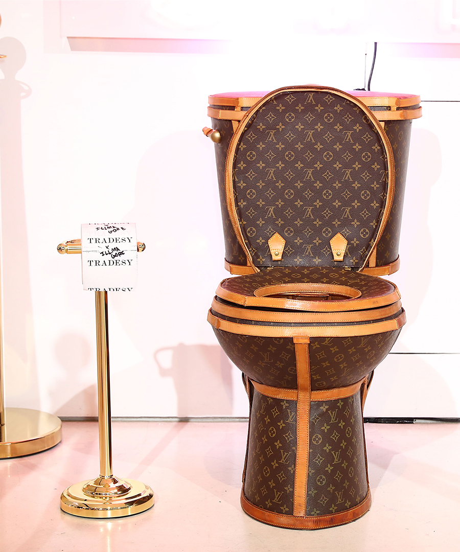 Buy This $100,000, Functional Louis Vuitton Toilet