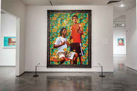 """Kehinde Wiley, """"Marechal Floriano Peixoto II"""" from The World Stage: Brazil series (2009)"""