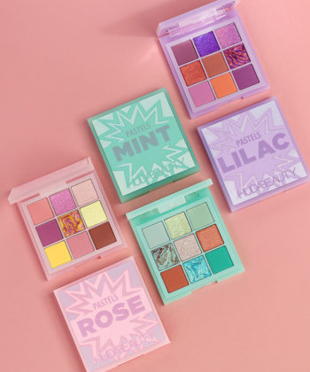 Brighten Up With Pretty Pastel Hues From Huda Beauty