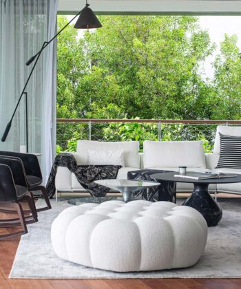 Inside The First Completed Residence at Monad Terrace in South Beach