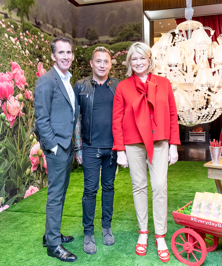 Baccarat Celebrates The Launch of Martha's Flowers