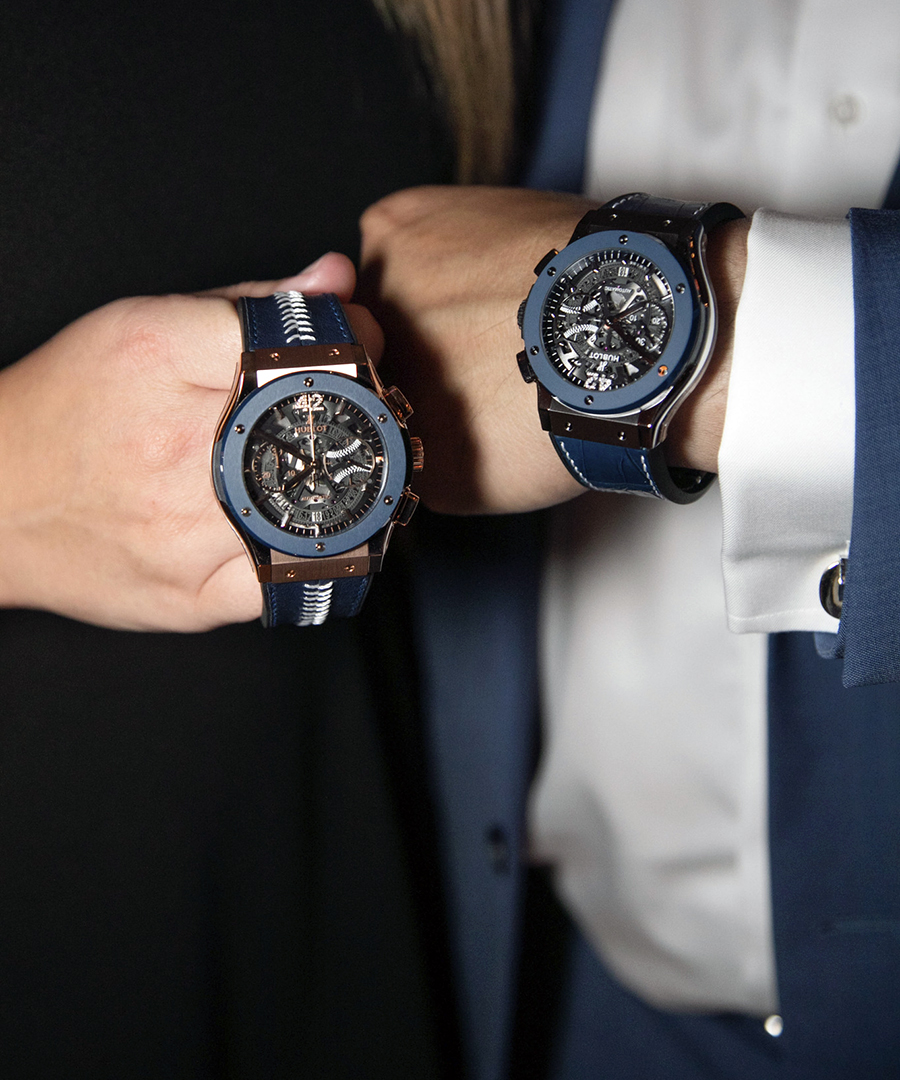 Hublot Honors Mariano Rivera With Limited-Edition Timepieces
