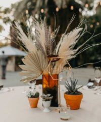 For creative brides and grooms, we recommend centerpieces that go beyond flowers