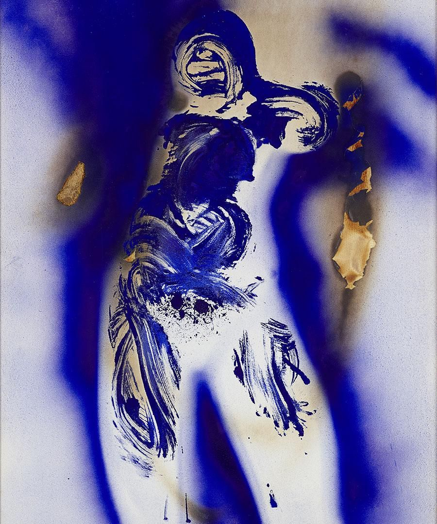 Yves Klein's Uptown Moment
