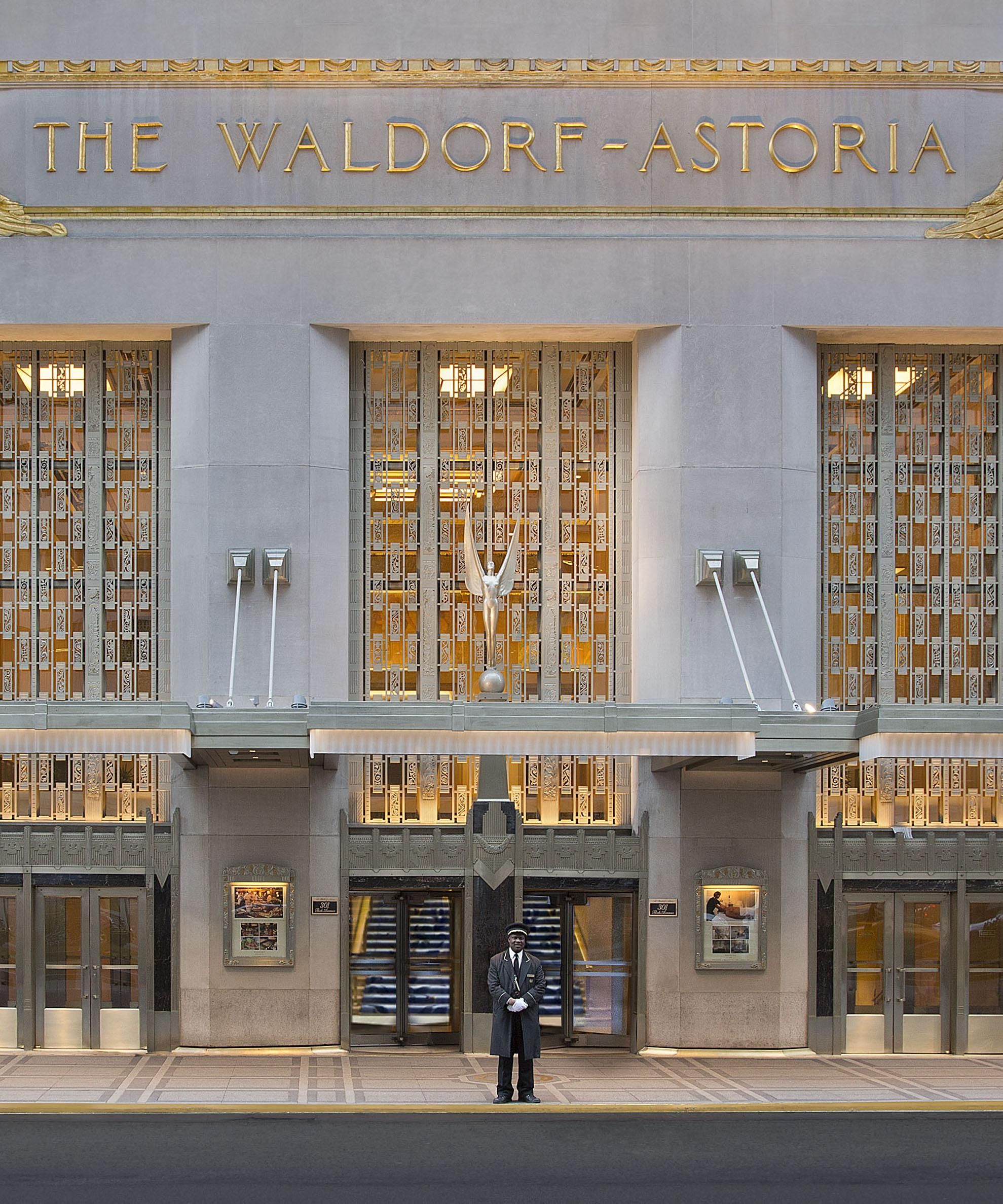 Room Request! The Waldorf Astoria New York