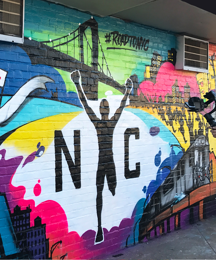 Must-See Murals at the NYC Marathon