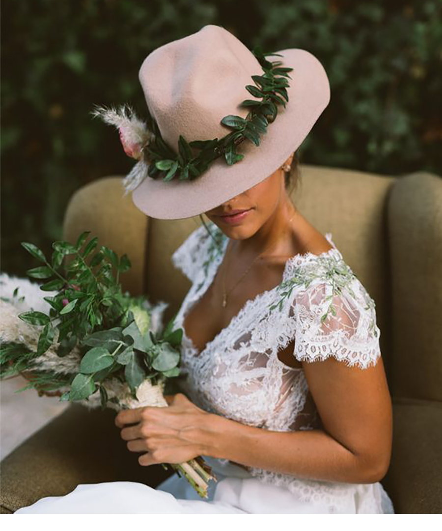 Shop Our Favorite Bridal Hats