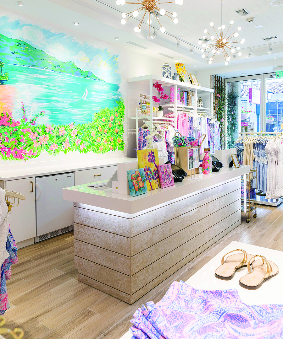 Summer Shopping at Lilly Pulitzer