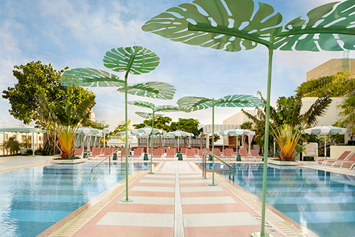 The Goodtime Hotels' pool