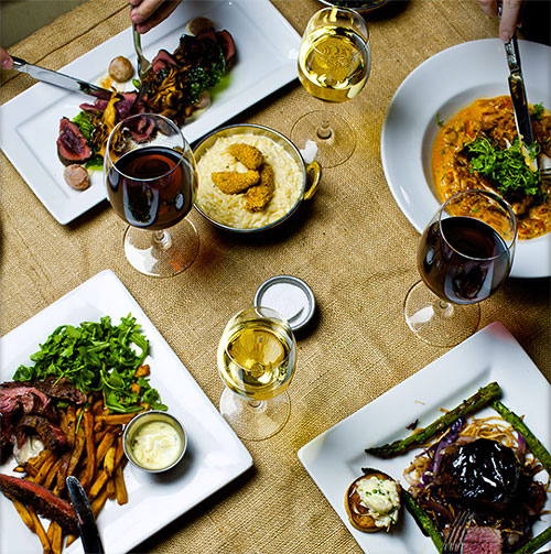 Dishes at Lonesome Dove