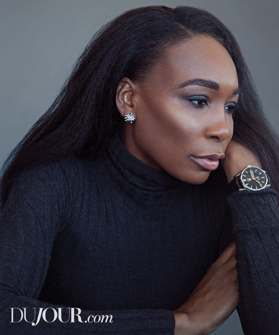 Meet the Beauty Team Behind Venus Williams's DuJour Cover Look