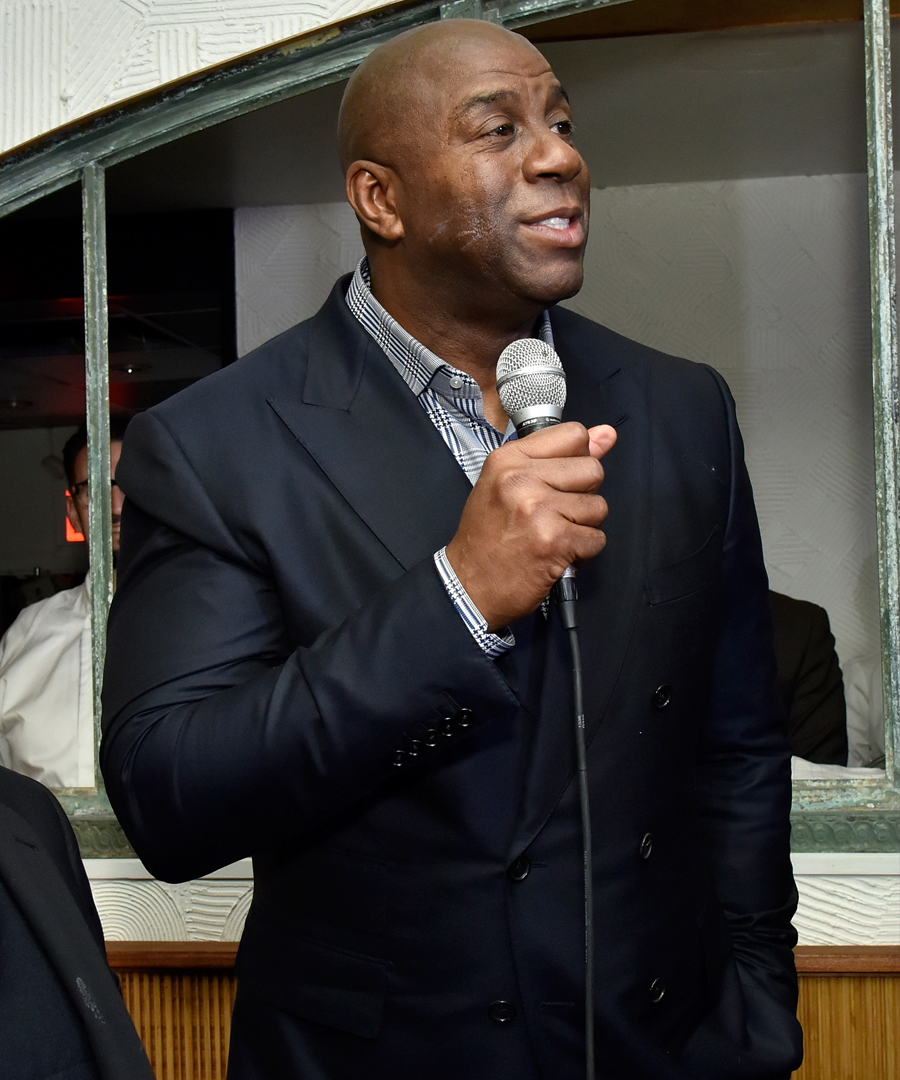 "DuJour Celebrates Author Darren Prince and Earvin ""Magic"" Johnson"