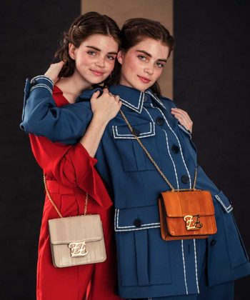 See Insta-Famous Blutstein Twins Model Fendi's 2020 Resort It Bag