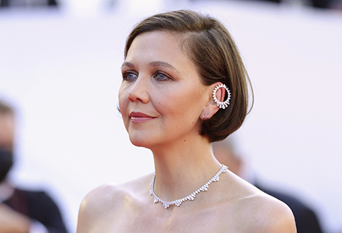 Maggie Gyllenhaal in Chopard's Haute Joaillerie creations in Cannes