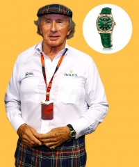 Watch & Learn: Sir Jackie Stewart's Rolex